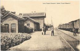 Blaasveld   *  Station Statie Gare Thisselt - Blaesvelt  (station - Bahnhof) - Willebroek