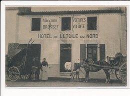 SAINTE-PAZANNE : Rue Du Pellerin, Hotel De L'etoile Du Nord, Magasin Brosset Voitures à Volonté - Tres Bon Etat - Kremlin Bicetre