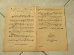 Le Premier Rendez Vous (Musique P. Codini)(Paroles Louis Poterat) Partition Musique De Film - Scores & Partitions