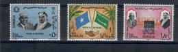 SOMALIA 1967 - VISITA DI RE FEISAL  - MNH ** - Somalia (1960-...)