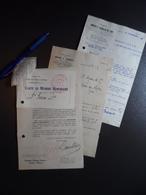 Lot Documents OTL Omnibus Tramways Lyon Dont Carte Membre Honoraire 1941 - 1945 - Autres