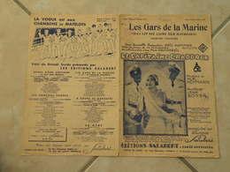 Les Gars De La Marine (Musique W.R. Heymann)(Paroles Jean Boyer) Partition 1931 - Scores & Partitions