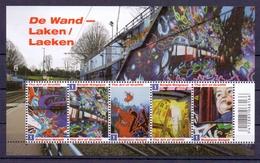 Belgie - 2011 - ** - OBP - 4125/29 - Blok 188 - De Wand    ** - Unused Stamps