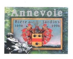 BROUWERIJ - BIERE DES JARDINS ANNEVOIE  - 1696 - 1996  - 1  BIERETIKET  (BE 675) - Beer