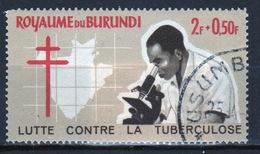 Burundi 1965 Single 2f + 0.50f Stamp From The Anti-TB Campaign Set. - Burundi