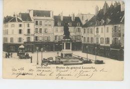 LONS LE SAUNIER - Statue Du Général Lecourbe (carte Précurseur Ayant Voyagé En 1900 ) - Lons Le Saunier