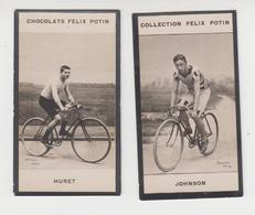 BO / Image Photo ( BARENNE )  Collection Félix Potin Cyclisme Coureur Cycliste Vélo / HURET , JOHNSON - Andere