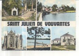 Saint Julien De Vouvantes (carte Multivues) - Saint Julien De Vouvantes