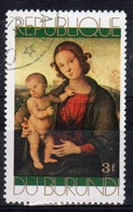 Burundi 1971 Single 3f Stamp From The Christmas Paintings Set. - 1970-79: Used