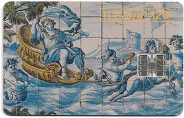 Portugal - TLP - Museu Nacional Do Azulejo - 120Units, SC7, 04.1994, 50.000ex, Used - Portugal