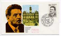 - FDC TROYES 8.10.1977 - EDOUARD HERRIOT - - Famous People