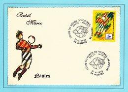 01 16082FRANCE 98 - Stade De Nantes - Brésil - Maroc - FDC