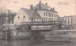 Menin - Le Pont Sur La Lys - Avec Douane à Gauche (?) - Menen