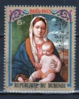 Burundi 1973 Single 5f Stamp From The Christmas Paintings Set. - 1970-79: Used