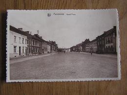 FARCIENNES Grand Place Animée Province Du Hainaut België Belgique Carte Postale Postcard - Farciennes