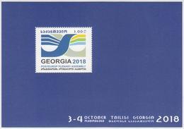 Georgia 2018 Mi# Bl 82 (723) POSTEUROP PLENARY ASSEMBLY * * - Georgia