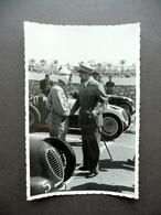 Fotografia Originale Gran Premio Di Tripoli 1939 Brezzi Italo Balbo Auto Sport - Photos