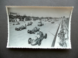 Fotografia Originale Gran Premio Di Tripoli 1939 Partenza Auto Sport - Photos
