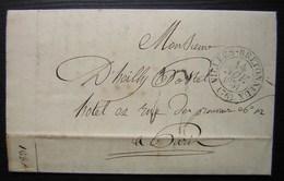 Villers Bretonneux 1831(Somme) Lettre Pour Paris - 1801-1848: Précurseurs XIX