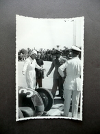 Fotografia Originale Gran Premio Di Tripoli 1939 Balbo Taruffi Auto Maserati - Photos