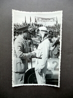 Fotografia Originale Gran Premio Di Tripoli 1939 Balbo Caracciola Auto Mercedes - Foto