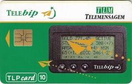 Portugal - TLP - TLM, Telebip - 10Units, 10.1993, 10.150ex, Used - Portugal