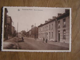 FARCIENNES ROTON Rue Le Campinaire Animée  Province Du Hainaut België Belgique Carte Postale Postcard - Farciennes