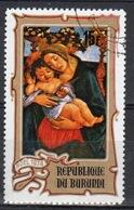 Burundi 1974 Single 15f Stamp From The Christmas Paintings Set. - 1970-79: Used
