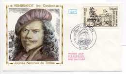 - FDC LILLE 26.2.1983 - Peintre REMBRANDT (par Gandon) - - Rembrandt