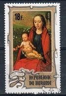 Burundi 1974 Single 18f Stamp From The Christmas Paintings Set. - 1970-79: Used