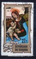 Burundi 1974 Single 27f Stamp From The Christmas Paintings Set. - 1970-79: Used