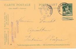 Henripont , Entier Postal Publicité , Henri  Detournay , Maréchal  ,en 1914 ( Braine -le-Comte ) - Braine-le-Comte