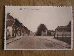 FARCIENNES Rue Du Wainage Animée  Prov Hainaut België Belgique Carte Postale Postcard - Farciennes