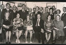 VOSSELARE   FOTO 1973    --   BLOEDGEVERS  +- 15 X 8 CM - Nevele