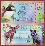 MINGAN ARCHIPELAGO National Park (Canada) 50 Dollars 2019 Polymer UNC - Andere