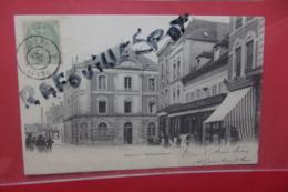Cp Romilly Hotel De Ville Animé - Romilly-sur-Seine