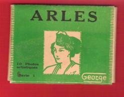 ARLES En Camargue Mini-carnet De 10 Photos Par George - Orte