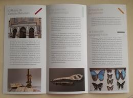 FOLLETO TURÍSTICO MUSEO DE LAS CIENCIAS NATURALES. ZARAGOZA - ESPAÑA. - Folletos Turísticos