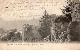 CHYPRE KYRINIA PART OF THE UINS OF ST. HILARION (CARTE PRECURSEUR ) - Zypern