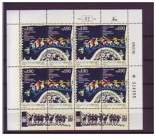 Israele - 1990 - Nuovo/new MNH - Folklore - Foglio - Mi N. 1160/61 - Blocchi & Foglietti