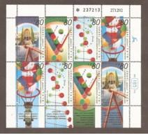 Israele - 1993 - Nuovo/new MNH - Museo Delle Scienze - Mi N. 1262/65 - Blocchi & Foglietti