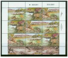 Israele - 2007 - Nuovo/new MNH - Animali Di Campagna - Sheet - Mi N. 1956/58 - Blocchi & Foglietti