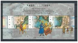 Israele - 1992 - Nuovo/new MNH - Cacciata Degli Ebrei Dalla Spagna - Sheet - Mi Block N. 45 - Blocchi & Foglietti