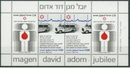 Israele - 1980 - Nuovo/new MNH - David Adom - Sheet - Mi Block N. 19 - Blocchi & Foglietti