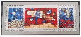 Israele - 1990 - Nuovo/new MNH - Arte - Sheet - Mi Block N. 41 - Blocchi & Foglietti