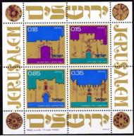 Israele - 1971 - Nuovo/new MNH - Architettura - Sheet - Mi Block N. 8 - Blocchi & Foglietti