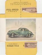 FULL SPEED VIRGINIA Nr 137, Bristol 1949 - Cigarette Cards