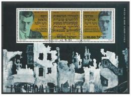 Israele - 1983 - Usato/used - Olocausto - Sheet - Mi Block N. 24 - Blocchi & Foglietti