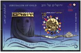 Israele - 2008 - Nuovo/new MNH - Jerusalem Of Gold - Sheet - Mi Block N. 25 - Blocchi & Foglietti