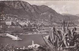 CARTOLINA - MONACO - MONTE CARLO - L' ENTRèE DU PORT, LE CASINO - VIAGGIATA PER MILANO - Monte-Carlo